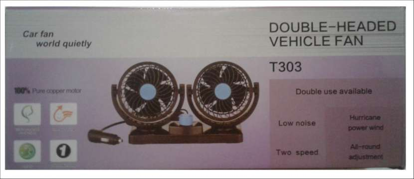 Ventilador de vehículo T304 - 1