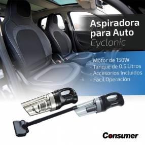Aspiradora para auto Consumer Cyclonic