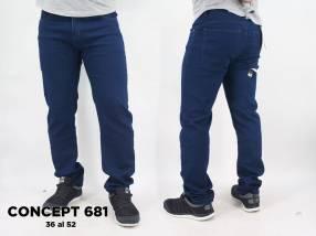 Jeans para caballero CONCEPT 681