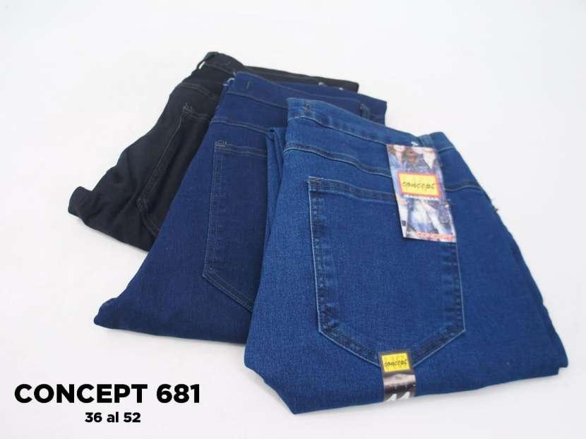 Jeans para caballero CONCEPT 681 - 1