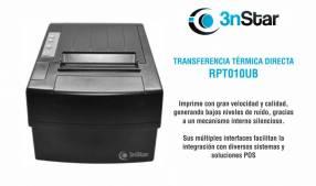 Impresora térmica directa 3nStar RPT010UB