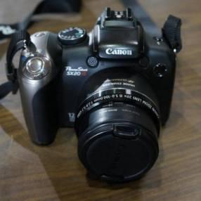 Cámara Canon PowerShot SX20 IS 12 mpx filma HD