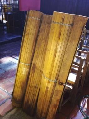 Persianas de madera para exterior