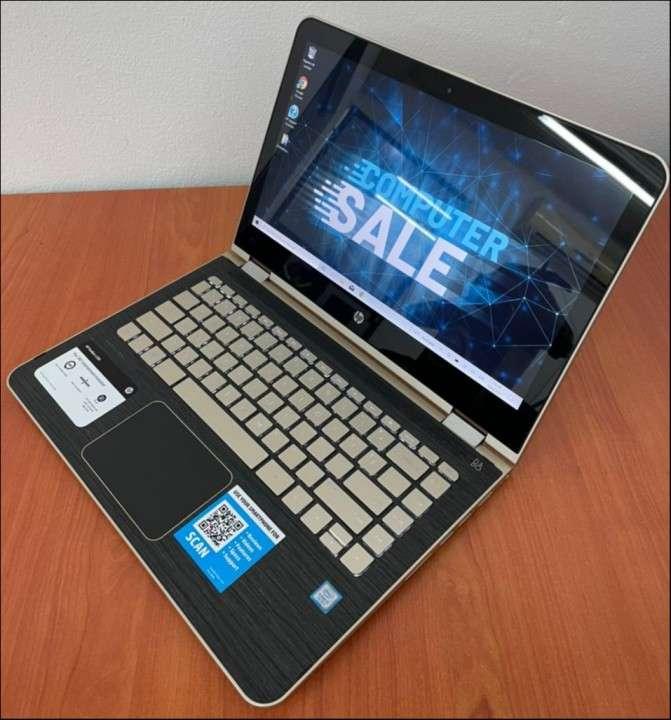 HP Pavilion x360 i5 8gbRAM SSD - 6