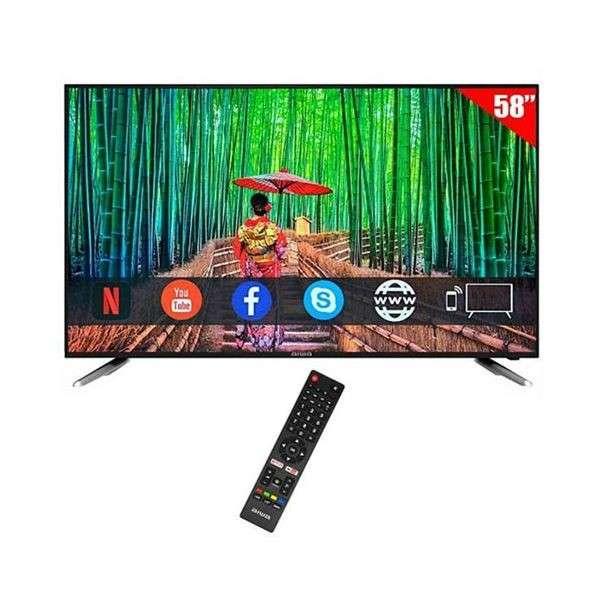 Smart TV Aiwa de 59 pulgadas 4K UHD - 0