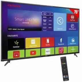 Smart tv 4k uhd 75 pulgadas