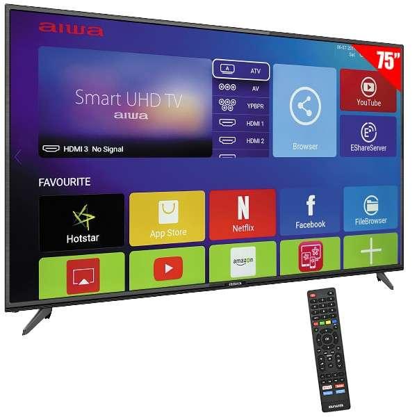 Smart tv 4k uhd 75 pulgadas - 0