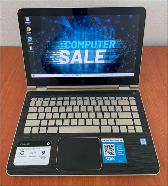 HP Pavilion x360 i5 8gbRAM SSD - 0