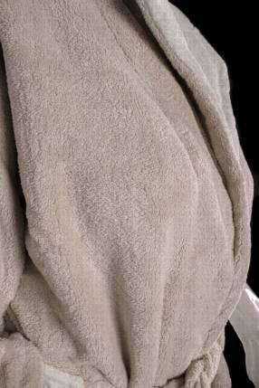 Salto de cama franela crema talle M