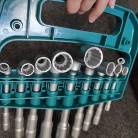 Juego de 9 piezas llaves de tubo en L angulado