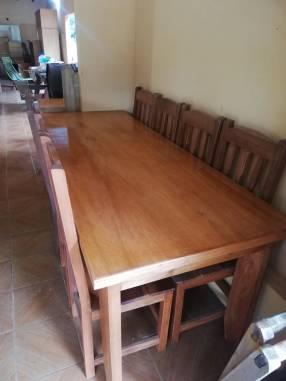 Mesa comedor 8 personas