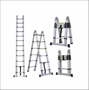 Escalera telescópica 3 en 1 de 3,70 cm