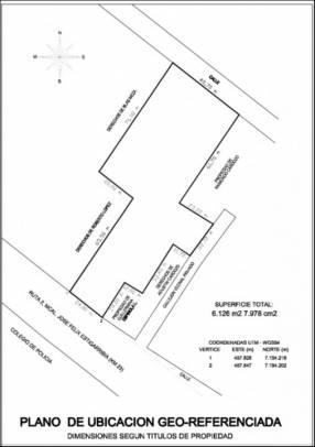 Terreno para logística, comercio, fábrica sobre ruta PY02