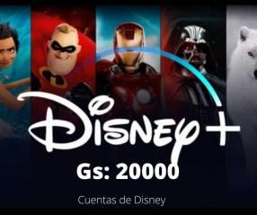 Cuentas de Disney Plus