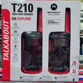 Walkie Motorola t 210 hasta 32 km