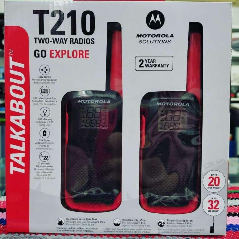 Walkie Motorola t 210 hasta 32 km - 0
