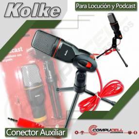 Micrófono de escritorio con trípode Kolke