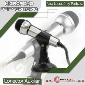 Micrófono de escritorio auxiliar 3.5mm