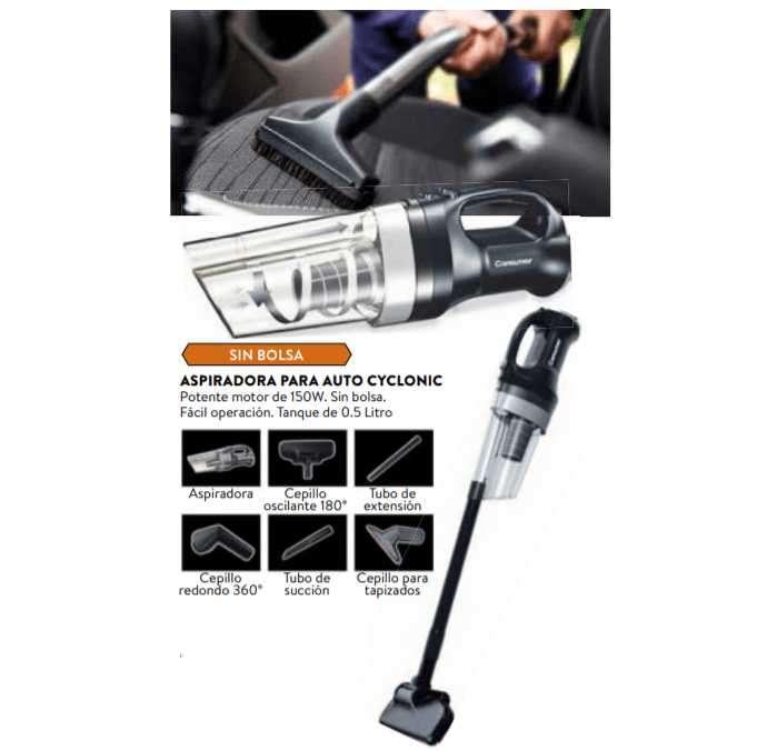 Aspiradora para auto consumer cyclonic - 0