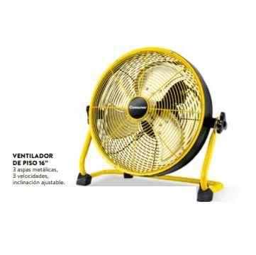 Ventilador de piso 16 pulgadas Consumer 55W - 0