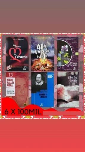 Promo de 6 libros