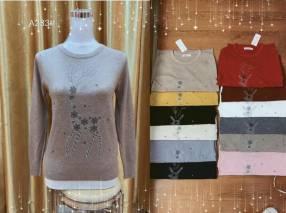 Suéter con diseño de venadito XYULIA233