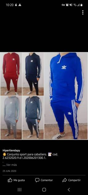 Conjunto deportivo Adidas GG
