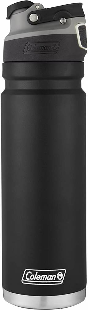 Coleman Autoseal FreeFlow - Botella de agua aislada de acero inoxidable 700 ml