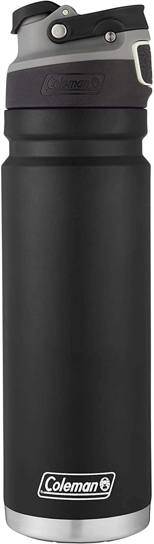 Coleman Autoseal FreeFlow - Botella de agua aislada de acero inoxidable 700 ml - 0