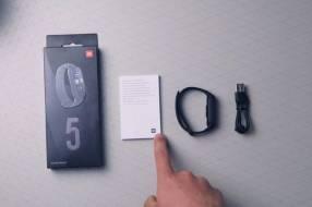 Pulsera Xiaomi Smart Mi Band 5 negro