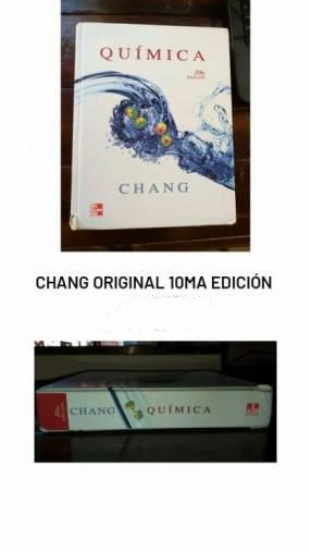 CHANG ORIGINAL 10ma EDICION (LIBRO DE QUIMICA)
