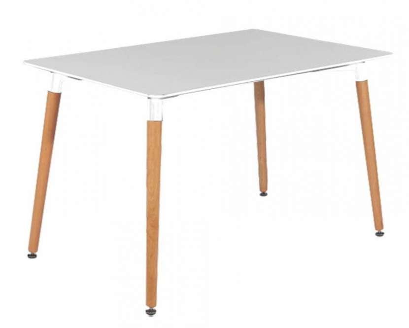 Escritorio Eames rectangular 120 x 60 cm (363) - 0