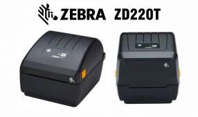 """Impresora Térmica Zebra ZD220T de Etiquetas 4"""""""