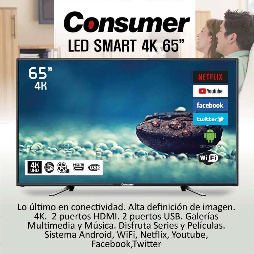 TV CONSUMER 65″ SMART 4k - 0