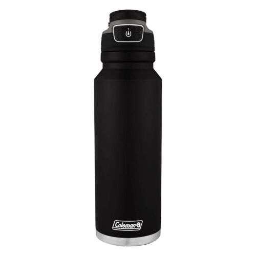 Coleman Autoseal FreeFlow - Botella de agua aislada de acero inoxidable 700 ml - 1