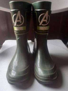 Bota de Avengers Hulk calce 31/32