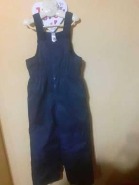 Enterizo forrado + campera con capucha para niño o niña de 3 años