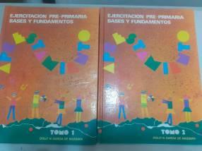 Libro aprestamiento para niños de 4 y 5 años consta de 2 tomos