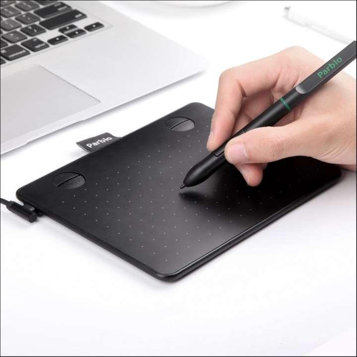 "Tablet gráfica Parblo A640 6x4"" pizarra digital - 0"