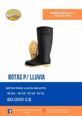 Botas para lluvia Bellota