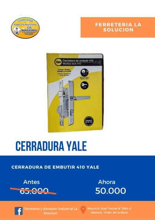 Cerradura yale - 0