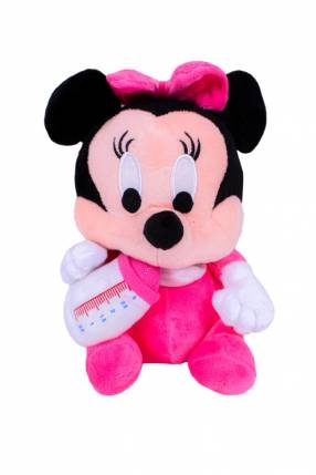 Peluche de Minnie Mouse fibra 100% virgen 17cm