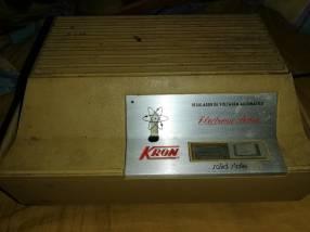 Estabilizador de voltaje proteje tu TV heladera pc ect