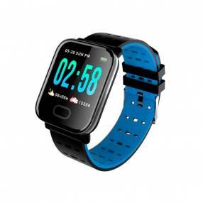Smartwatch a6 brazalete azul