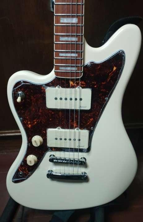 Guitarra Eléctrica para zurdo Harley Benton Tipo Jazzmaster - 0