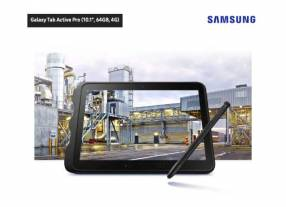 "Samsung Galaxy Tab Active Pro 10.1"" Wifi LTE 64 Gb"