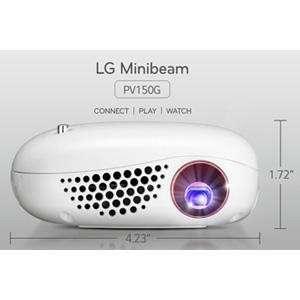 Proyector LG PV150G Minibeam Nano 100 pulgadas - 1