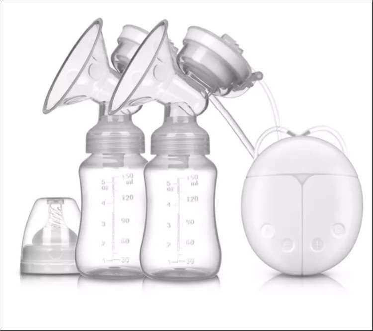 Extractor de leche eléctrico doble - 1