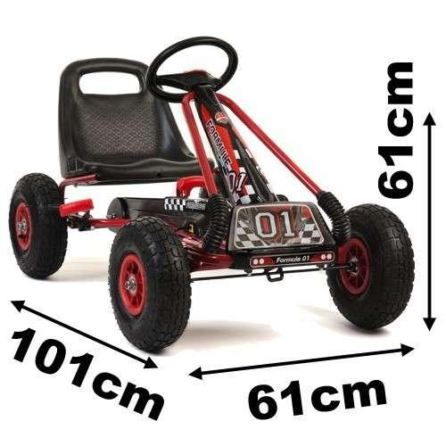 Kart a pedal para niños - 3