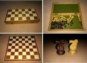 Juego de ajedrez usado antigüo